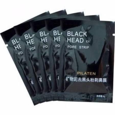 Mascara Removedora de Cravos - 6g Pilaten - Mascara Negra