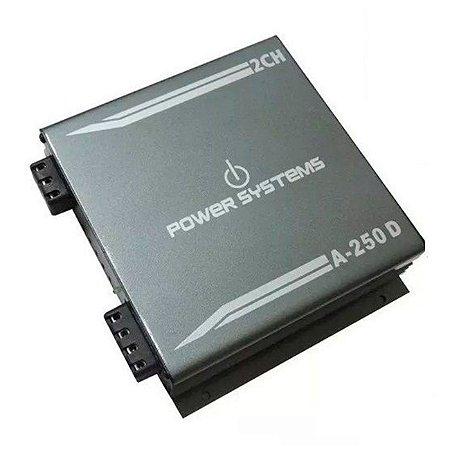 Módulo Amplificador Digital Power Systems A250d 2 Canal 2ohms