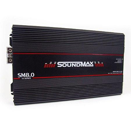 Módulo Amplificador SoundMax V2 SM8.0 2 Ohms