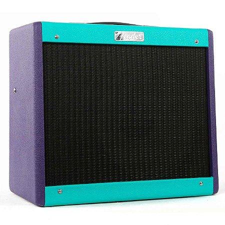 Amplificador para Guitarra Fender Blues Junior IV LTD Purple/SFM Combo