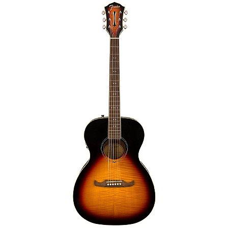 Violão Eletroacústico Fender Aço Concert Fa 235e 3 Tone Sunburst