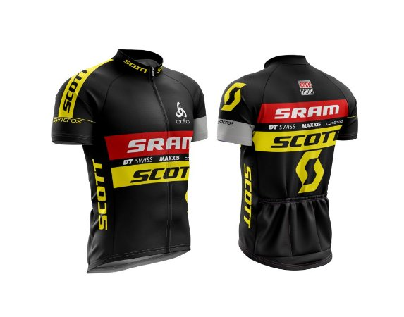 Camisa Ciclismo - Scott
