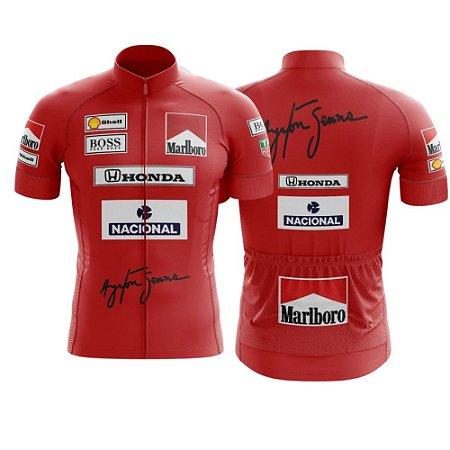 Camisa de Ciclismo - Ferrari