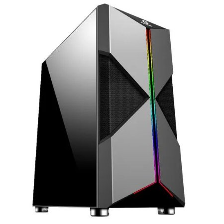 Gabinete Gamer - Mid Tower HOLT RGB FORTREK