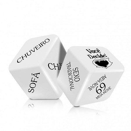 Dados Cubo do Amor Hot - 2 unidades - SF