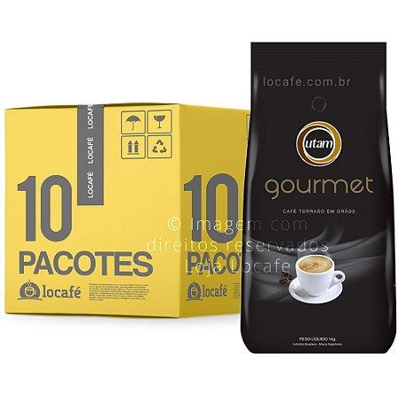 Café em Grãos Utam Gourmet - Caixa 10Kg (10x1Kg)