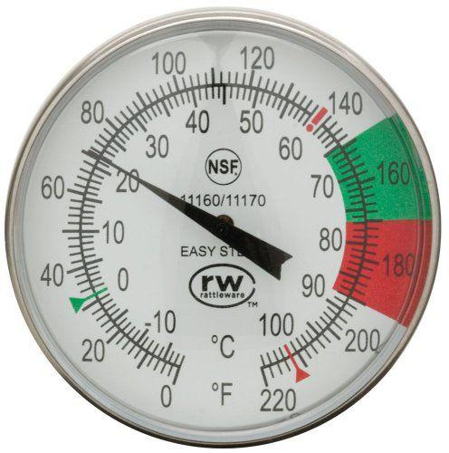 Termômetro Rattleware para Vaporização de Leite