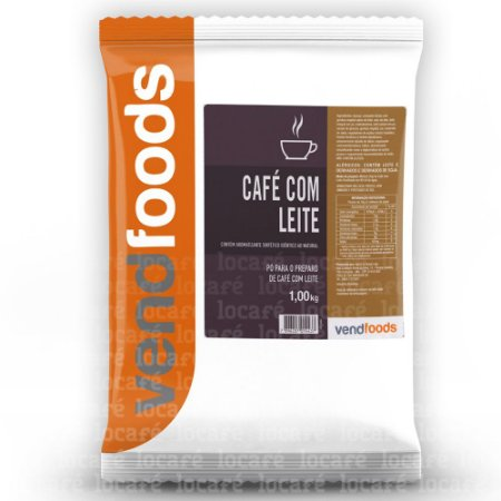 Café com Leite Solúvel Vendfoods - 1kg