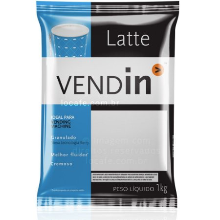 Vendin Latte em Pó - Leite sem Açúcar 1kg
