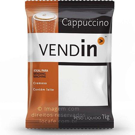 Cappuccino Solúvel Tradicional Vendin - 1kg