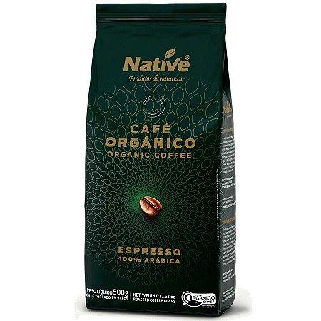 Café em Grãos Orgânico Native - 500g