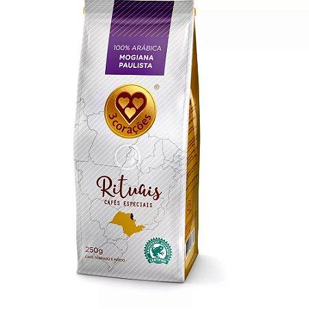 Café Três Corações Rituais Mogiana Paulista - Torrado e Moído 250g