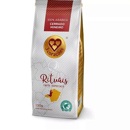 Café Três Corações Rituais Cerrado Mineiro - Torrado e Moído 250g