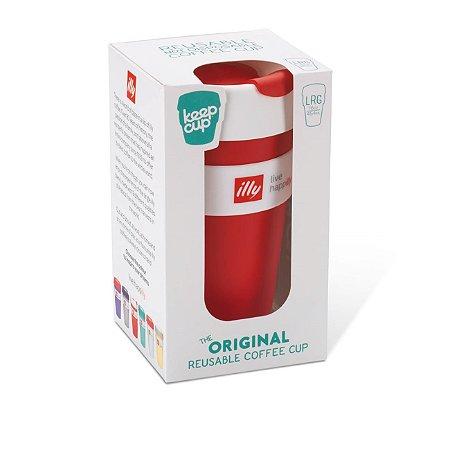 Keep Cup Illy Vermelho - 454ml