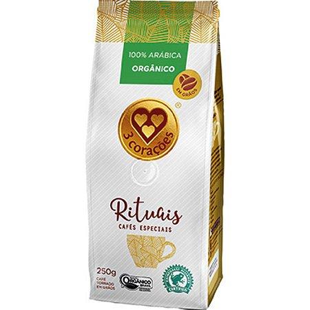 Café em Grãos Três Corações Rituais Orgânico - 250g