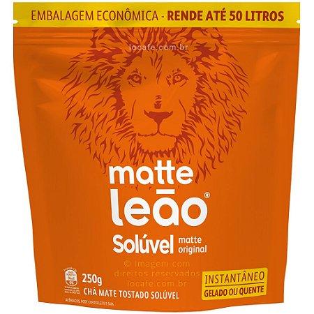 Matte Leão - Chá mate natural solúvel 250g Rende até 50 litros