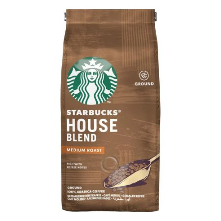 Café Starbucks® House Blend® Torra media - Moído 250g