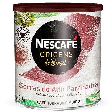 Nescafé Origens do Brasil Alto Paranaíba  - Torrado e Moído 250g