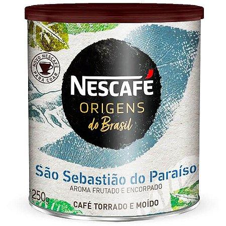Nescafé Origens do Brasil Sebastião do Paraíso  - Torrado e Moído 250g