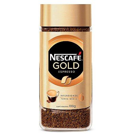 Nescafé Solúvel Gold Espresso Intensidade 6 - 100g