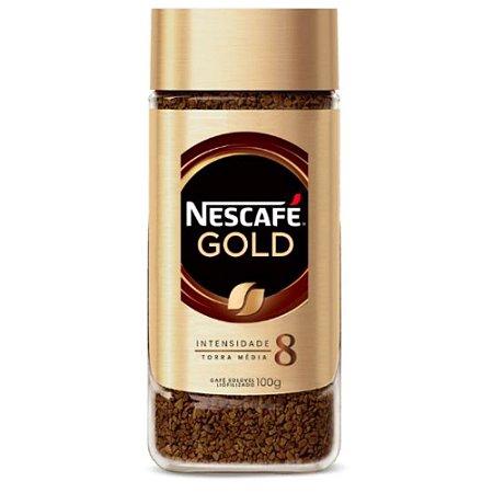 Nescafé Solúvel Gold Espresso Intensidade 8 - 100g