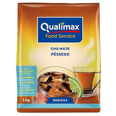 Chá Mate Solúvel Pêssego Vending 1Kg - Qualimax