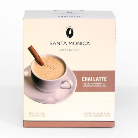 Chai Latte Santa Mônica - Monodose 20Ud