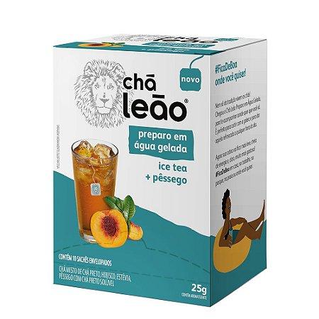 Chá Leão - Ice Tea com Pêssego 10 sachês