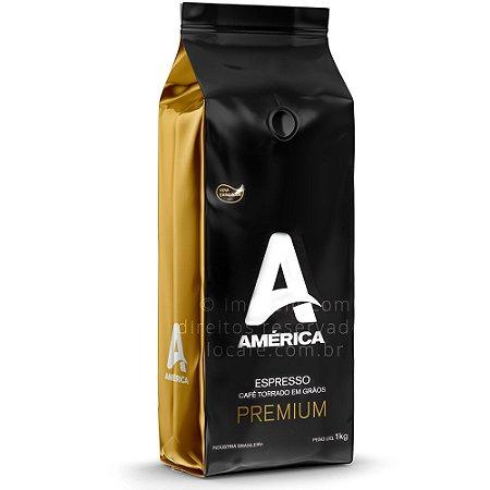 Café em Grãos América Premium 1kg - América