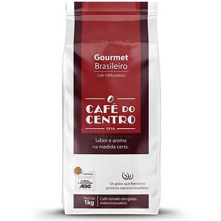 Café do Centro Gourmet Brasileiro - Grãos 1kg