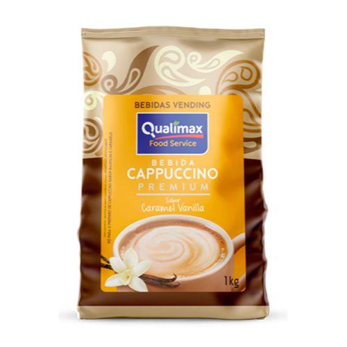 Cappuccino Sabor Caramel Vanilla 1Kg - Qualimax