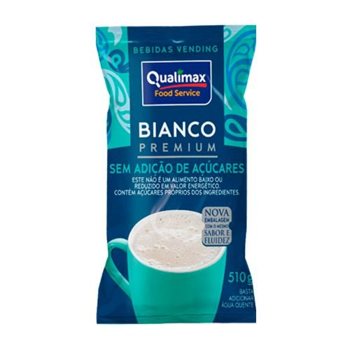 Bianco Premium - Sem adição de açúcar 500g - Qualimax