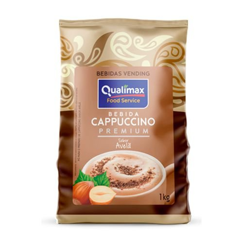 Cappuccino Premium Sabor Avelã 1Kg - Qualimax