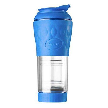 Cafeteira Pressca Azul Real - 350 ml