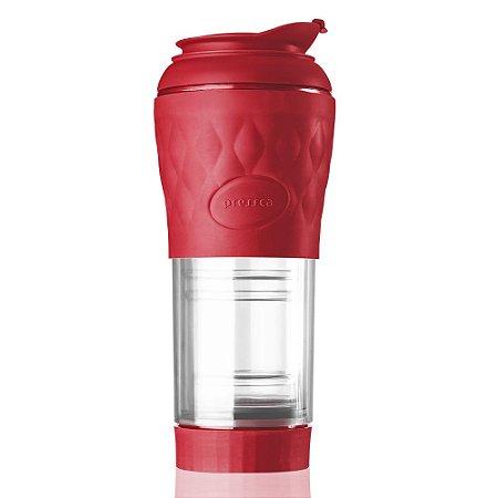Cafeteira Pressca Vermelho Ruby - 350 ml