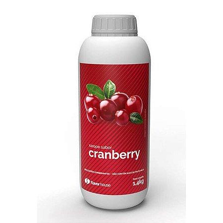 Xarope Artesanal Cranberry Flavor House