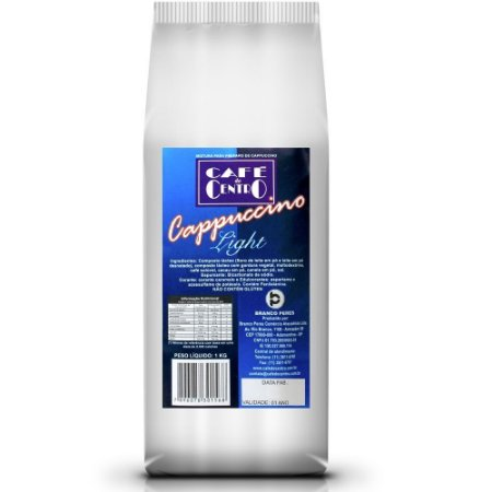 Cappuccino Solúvel Light 1kg - Café Do Centro