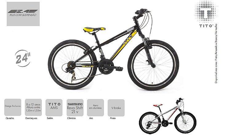 Bicicleta TITO TEEN VOLT 24 PLUS