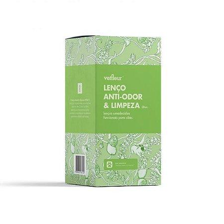 LENÇO ANTI-ODOR E LIMPEZA COM 28 UNIDADES