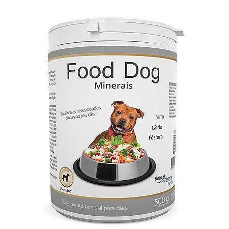 FOOD DOG MINERAIS 500G