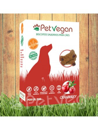 PETVEGAN CRANBERRY 200G