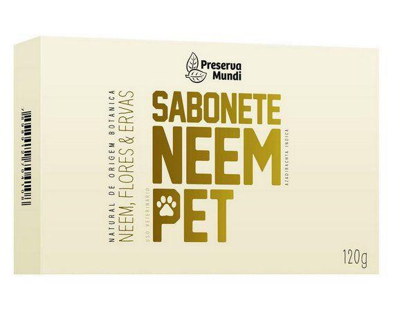SABONETE NEEM PET (HIDRATAÇÃO E HIGIENE) 180G