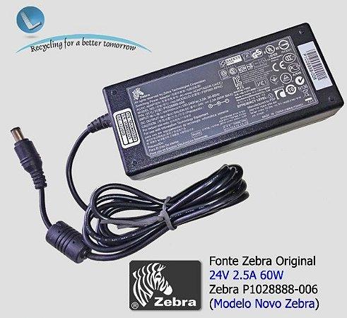 Fonte Zebra GK420T /GX420T P1028888-006|Mod. Atual Zebra (Original)
