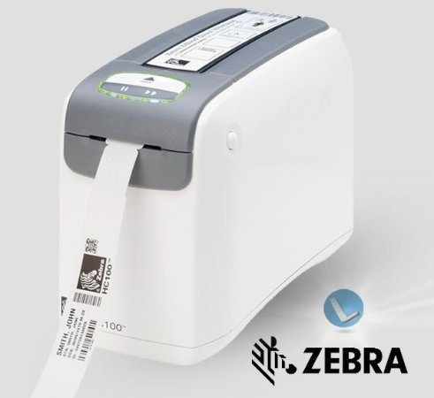 Impressora de Pulseiras Zebra HC100_USB