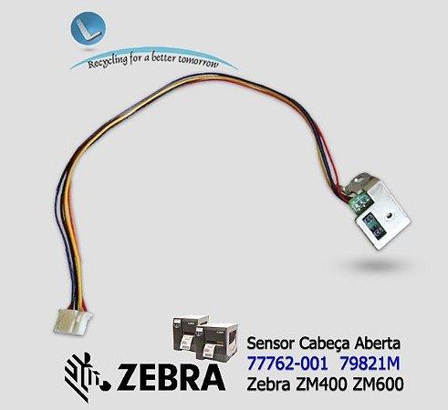 Sensor Ribbon e Cabeça Aberta, Zebra ZM400/ ZM600 - Lservice
