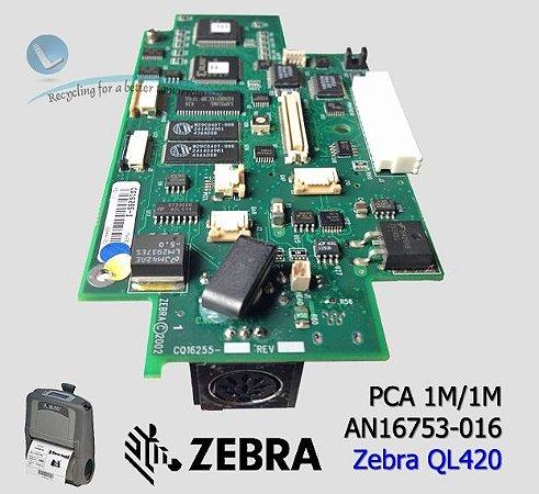 Placa principal zebra QL420|AN16753-016|RK18228-1