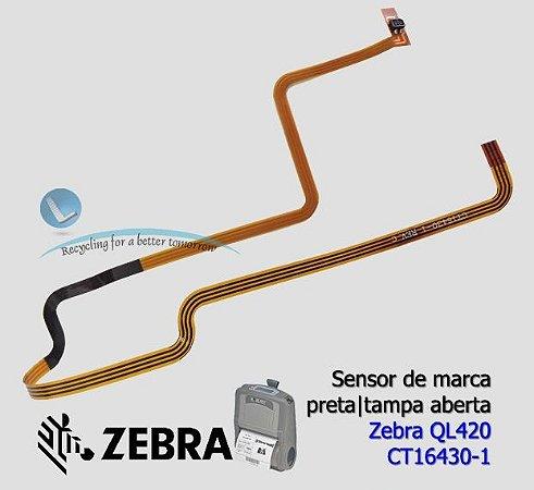 Sensor de marca preta Zebra QL420 |CT16430-1