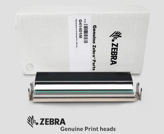 Cabeça de impressão Zebra S4M|300dpi|G41401M
