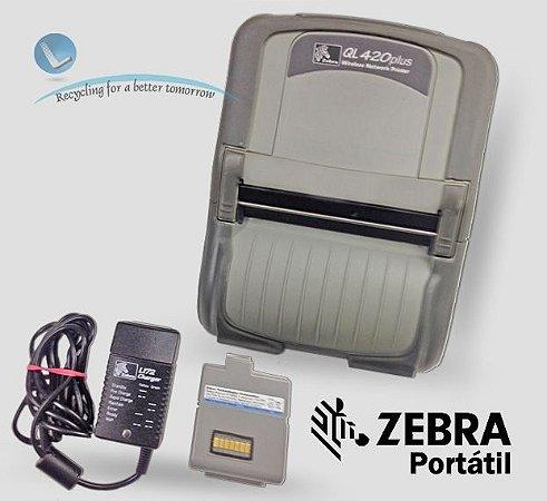 Impressora Zebra Mobile QL420 Plus