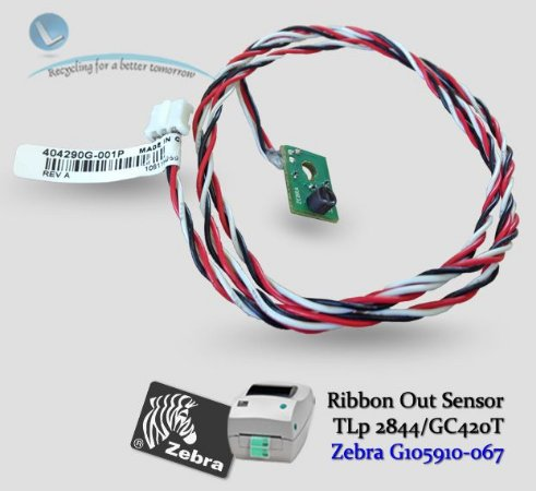 Ribbon Out Sensor TLP2844/GC420T|G105910-067